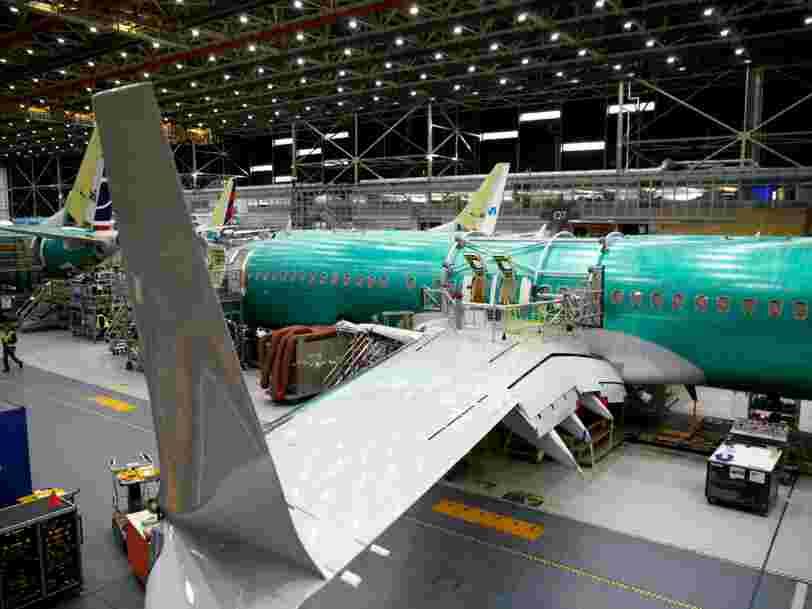 Une pièce défectueuse a été repérée sur les ailes de Boeing 737 Max