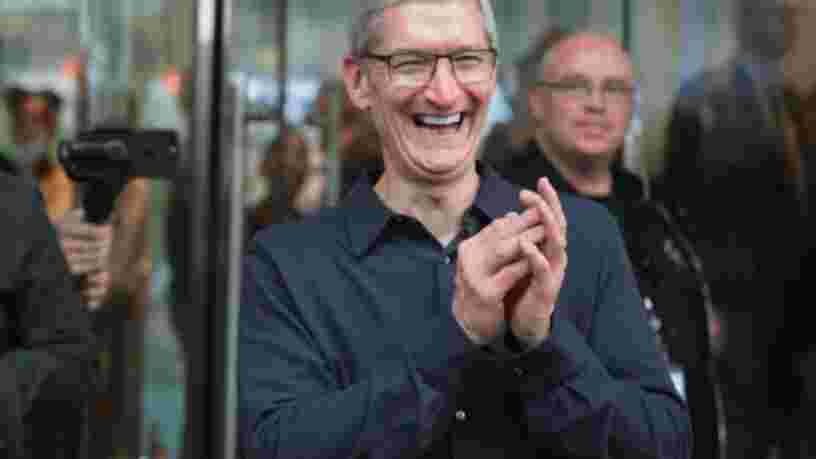 Apple a la 2ème plus importante flotte de voitures autonomes de Californie — devant Tesla, Waymo et Uber