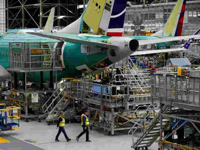 Boeing est contraint de réduire la production de son 737 Max