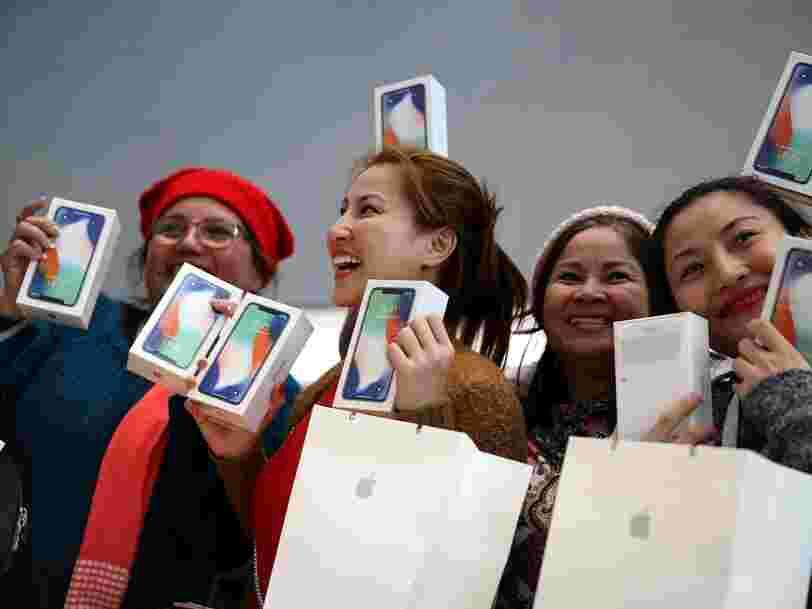 La faible demande d'iPhone X ne pénalise pas qu'Apple — c'est aussi un problème pour Samsung