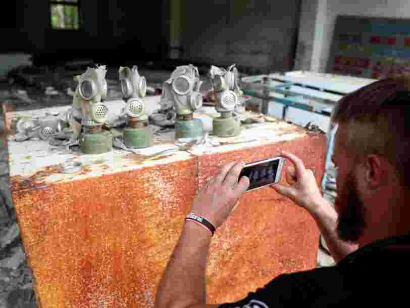 Avec le succès de la série de HBO, le tourisme explose à Tchernobyl