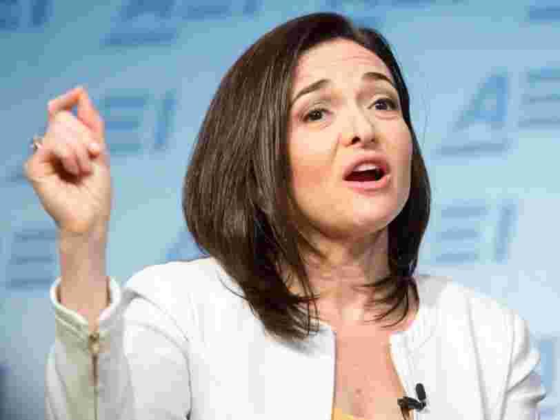 Sheryl Sandberg réplique au patron d'Apple après les tacles de Tim Cook sur Facebook