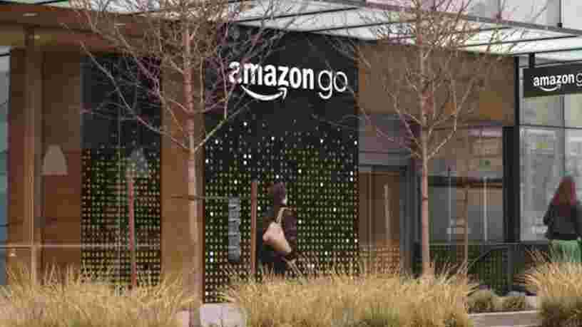 Voici l'épicerie du futur selon Amazon: plus de caissiers, plus de caisses, plus d'attente