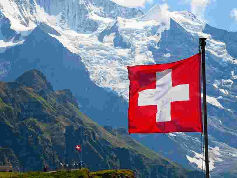 La croissance économique suisse n'était pas ressortie aussi bas depuis fin 2009