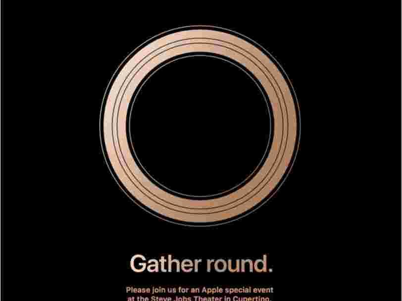Apple a envoyé les invitations pour son prochain événement iPhone qui aura lieu le 12 septembre prochain