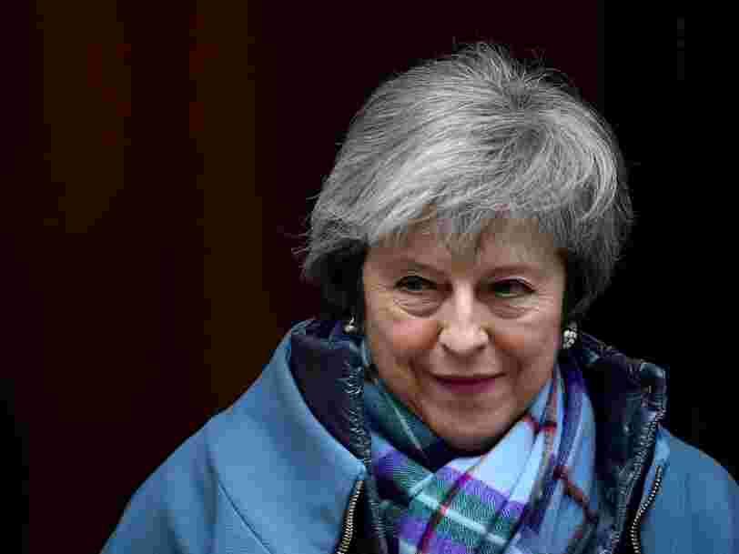Theresa May est chargée par ses députés de renégocier l'accord sur le Brexit notamment au sujet de la frontière irlandaise — mais l'UE a déjà dit non