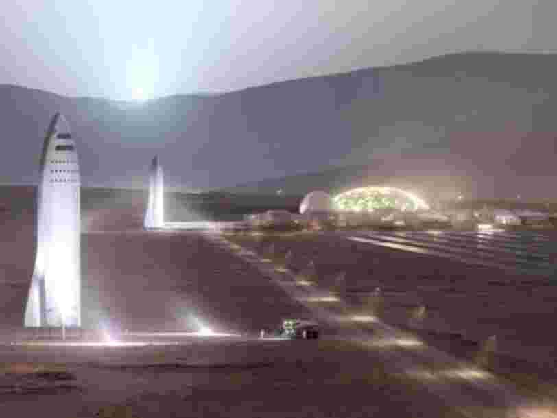 Elon Musk vient de dévoiler un outil géant que SpaceX va utiliser pour construire le plus grand et le plus puissant vaisseau spatial de l'Histoire
