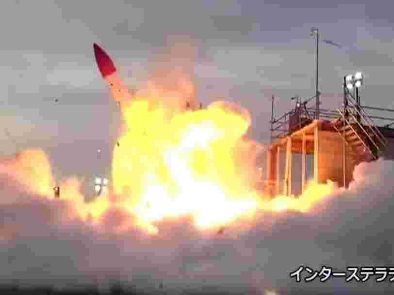 Cette vidéo montre l'effrayante explosion d'une fusée japonaise juste après son décollage sous les yeux de 600 témoins
