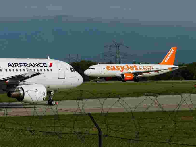 EasyJet espère transporter ses passagers dans des avions électriques d'ici 2027