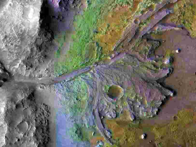 Mars : des chercheurs ont découvert l'existence passée de fleuves plus abondants que sur Terre