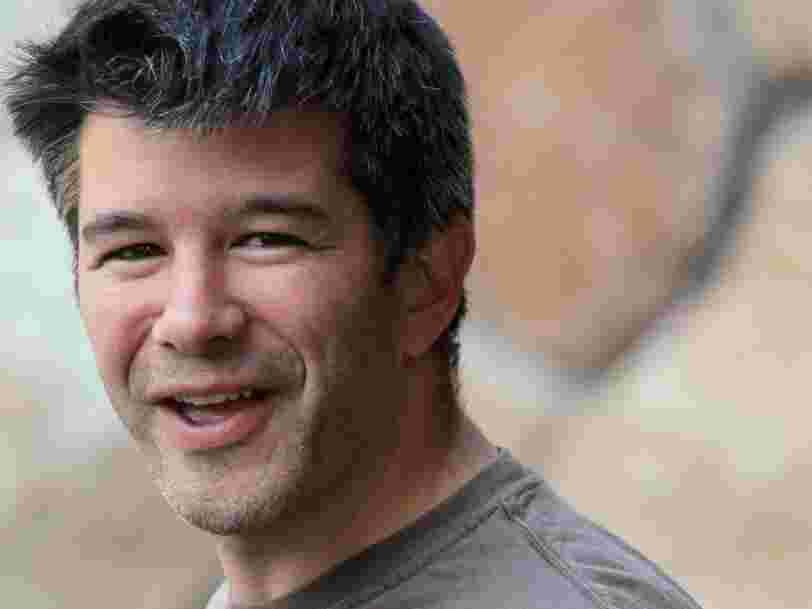 L'ancien DG d'Uber Travis Kalanick est officiellement de retour — il prend la tête d'une startup de l'immobilier avec 15 employés