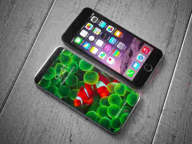 Si les rumeurs sur l'iPhone 8 sont vraies, Samsung peut commencer à s'inquiéter