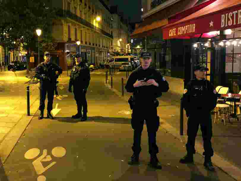 L'Etat islamique revendique une attaque au couteau qui a fait un mort et 4 blessés à Paris samedi soir