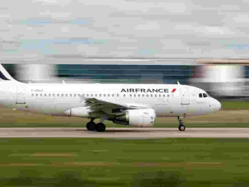 Air France est la dernière compagnie aérienne à apaiser la Chine en changeant la façon dont elle mentionne Taïwan