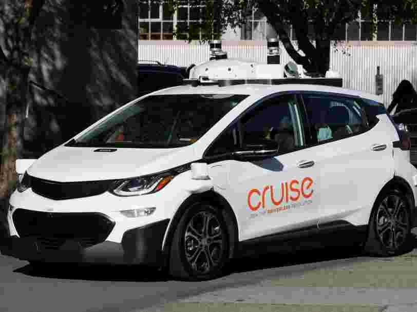 General Motors obtient 2,25 Mds$ du japonais Softbank pour développer ses voitures autonomes