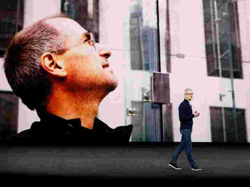 Apple a lancé son grand événement iPhone avec un vibrant hommage à Steve Jobs: 'Nous pouvons maintenant penser à lui avec joie plutôt qu'avec tristesse'