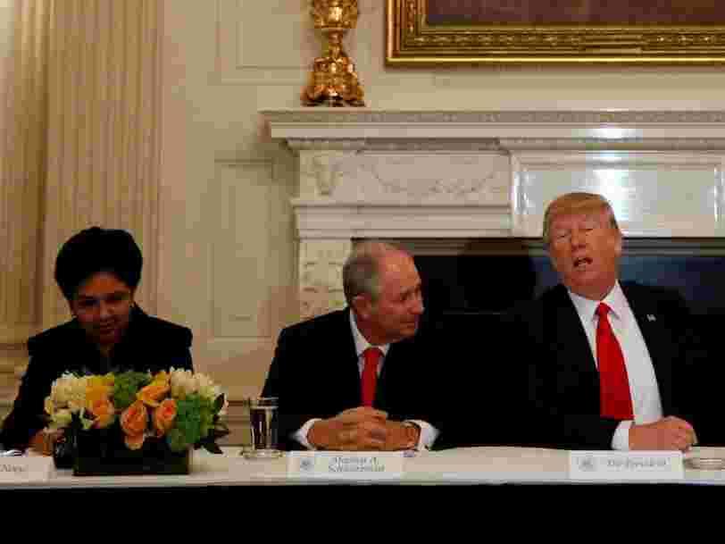 Comment le conseil des titans économiques de Donald Trump s'est désintégré