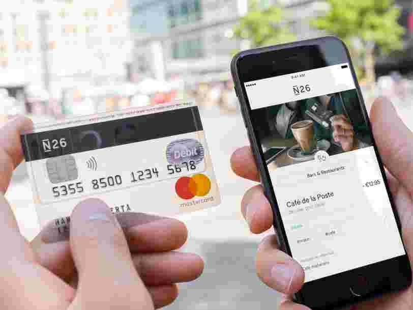 La banque mobile N26 lève 160M$ auprès d'Allianz et du Chinois Tencent — la pépite européenne est persuadée que vous allez laisser un robot gérer votre argent