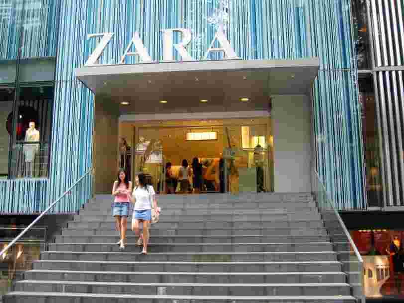 Zara affiche de meilleurs résultats que H&M — mais les deux marques font face aux mêmes turbulences