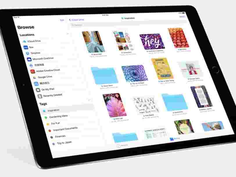 Apple a sorti iOS 11, son importante mise à jour logicielle pour iPhone et iPad