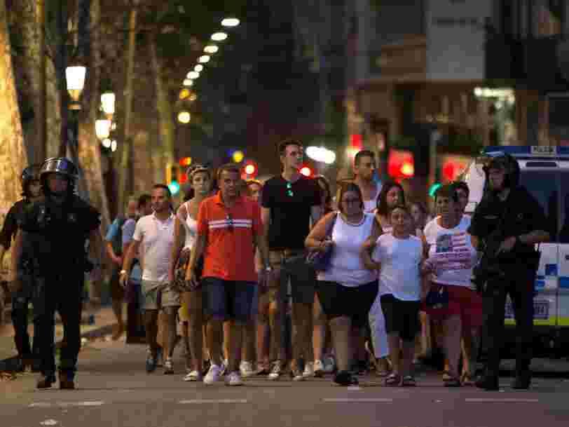 Le groupe Etat islamique revendique l'attentat de Barcelone qui a fait au moins 14 morts et 50 blessés