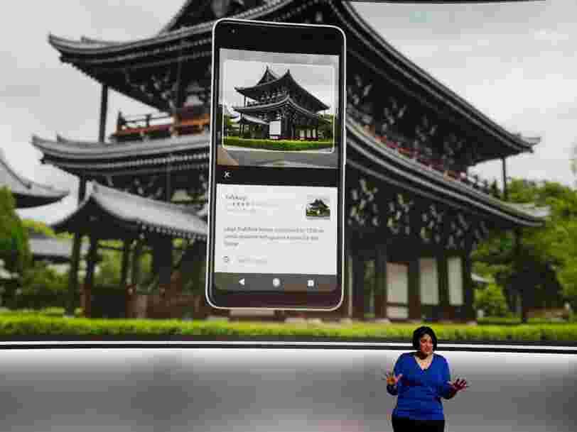La nouvelle technologie de reconnaissance d'images de Google a été créée en 'quelques mois' en Europe