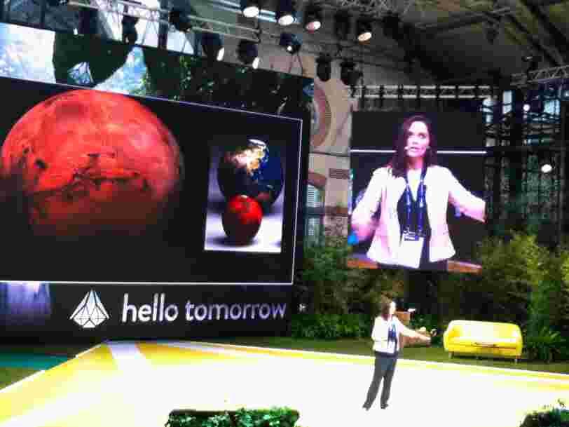 Une chercheuse de la NASA révèle 3 trucs cools de la vie sur Mars