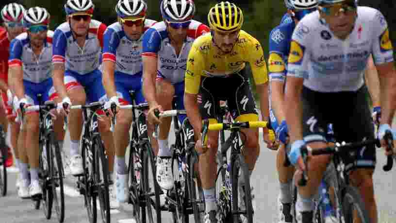 Tour de France : voici l'énergie que les cyclistes peuvent théoriquement économiser grâce à la technique de l'aspiration