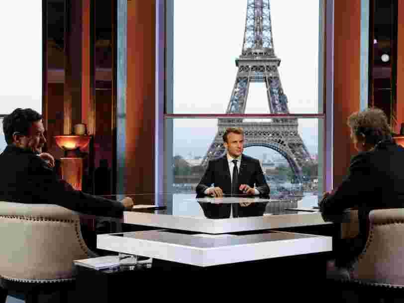 Emmanuel Macron a été chahuté par BFM TV et Mediapart comme s'il était à un débat électoral — voici les questions qui ont énervé le Président