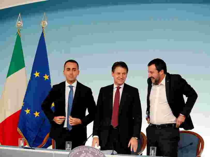 La Commission européenne rejette le budget 2019 de l'Italie —et c'est une première