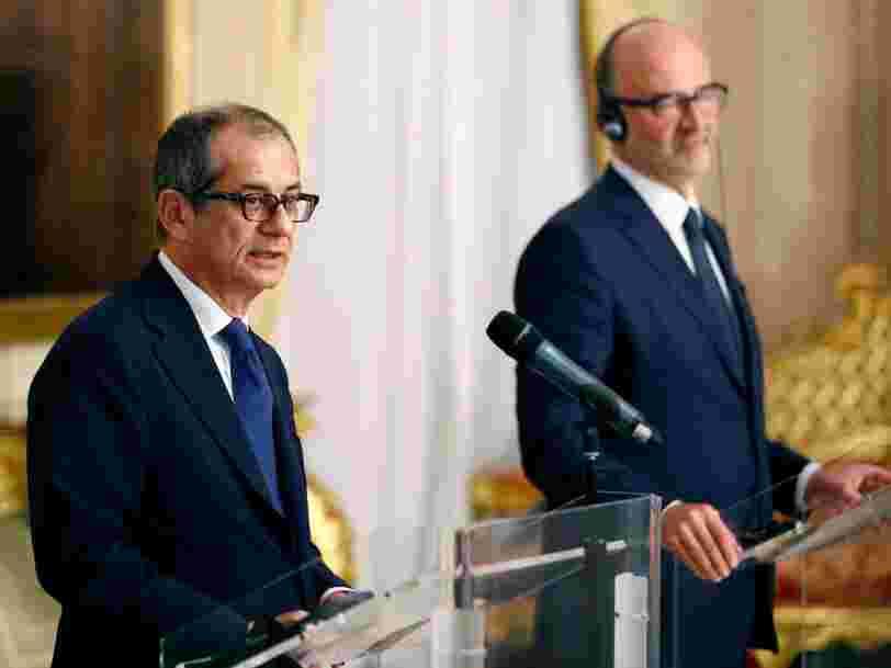 Le 'spread' Italie-Allemagne s'accroît fortement alors que l'Italie a refusé de présenter un nouveau budget à la Commission européenne — voici ce que signifie ce terme obscur pour les non-initiés