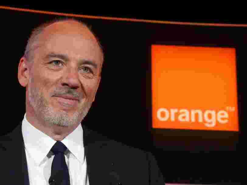 Orange a augmenté de plus de 40% son nombre d'abonnés à la fibre en un an