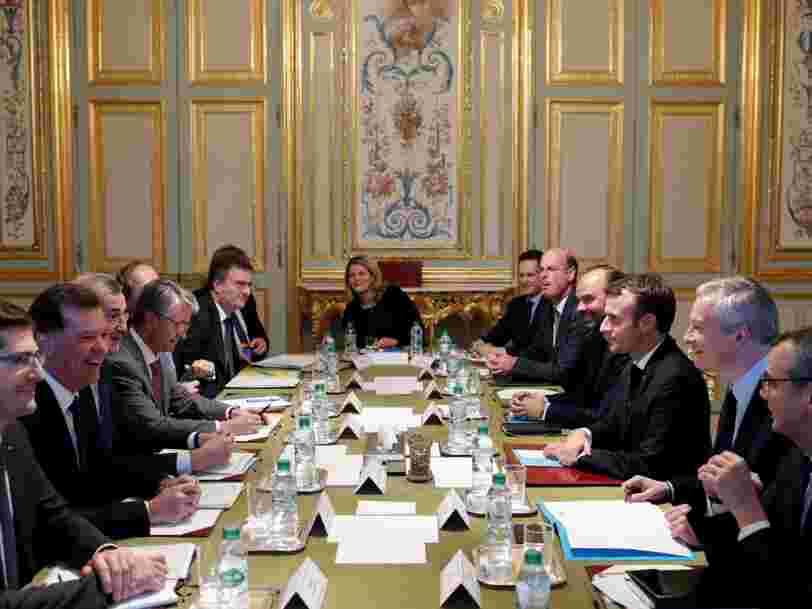 Emmanuel Macron obtient des banques 2 engagements — ils représenteraient jusqu'à '600 M€ de pouvoir d'achat redistribués aux Français'