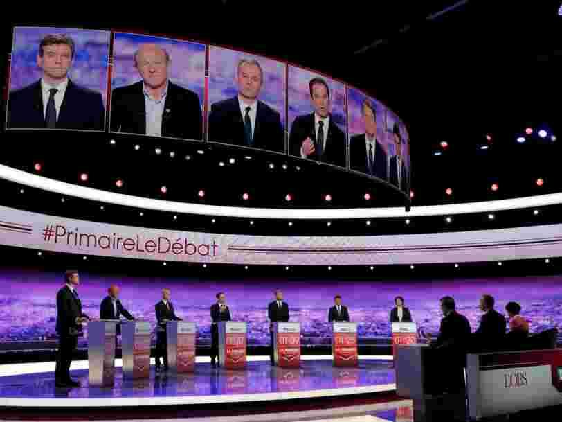 Un journaliste a demandé aux candidats de la primaire de la gauche de qualifier le bilan de François Hollande en un mot — voici ce qu'ils ont dit