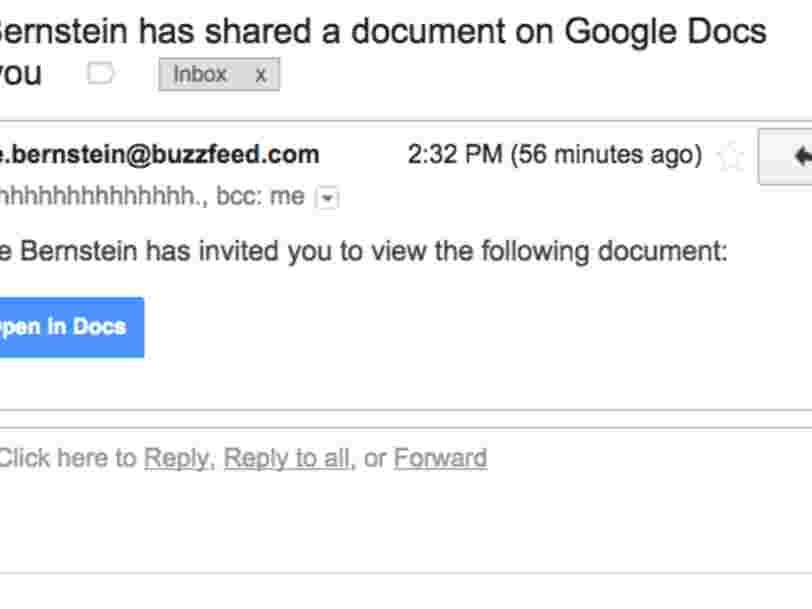 Google affirme que moins de 0,1% des utilisateurs de Gmail ont été ciblés par le virus transmis par Google Doc