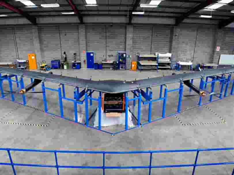 Facebook abandonne son projet de drones géants et licencie 16 salariés