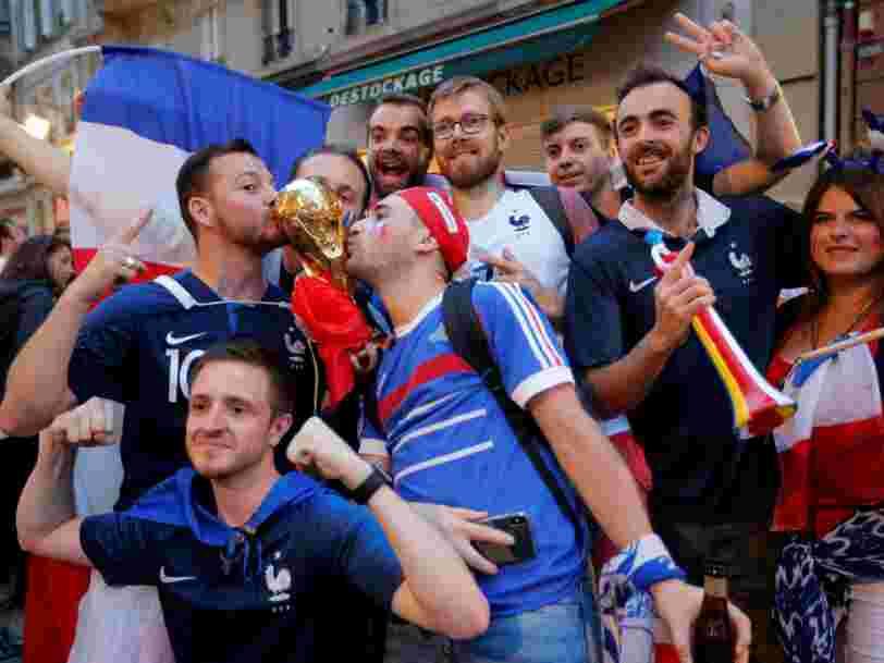 La Coupe du monde de football dope les revenus de TF1 qui grimpe en Bourse