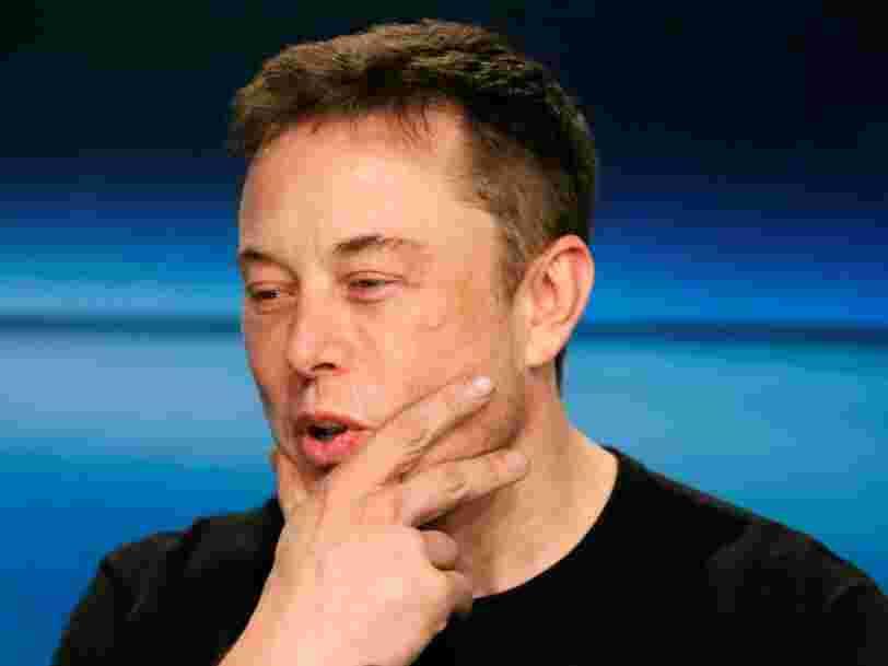 Elon Musk brûle 6500$ par minute chez Tesla — et l'entreprise de 40.000 personnes pourrait être à court d'argent avant la fin de l'année