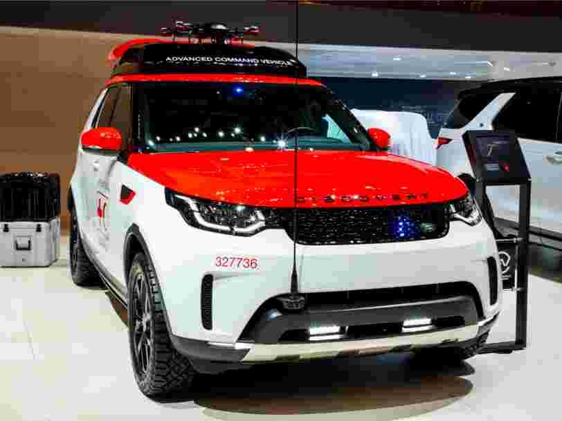 Jaguar Land Rover a investi 25M$ dans Lyft, le service de transport à la demande concurrent d'Uber