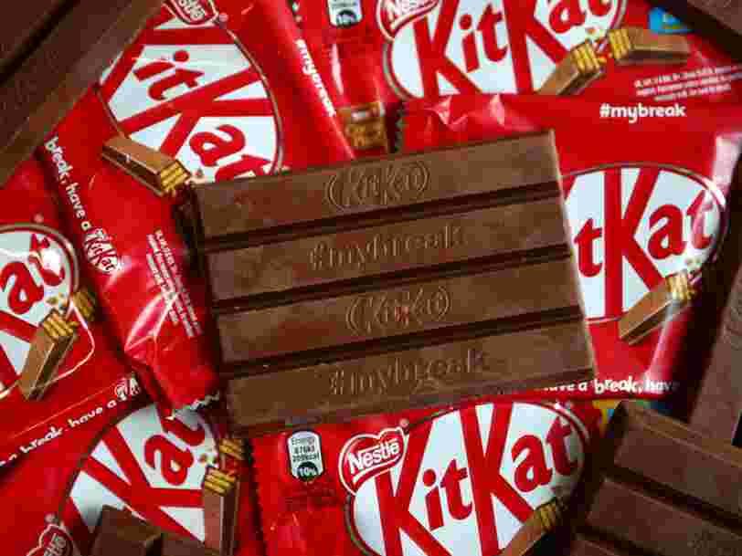 Nestlé vient de perdre une occasion d'avoir le monopole sur la forme des Kit Kat — mais le débat est loin d'être clos