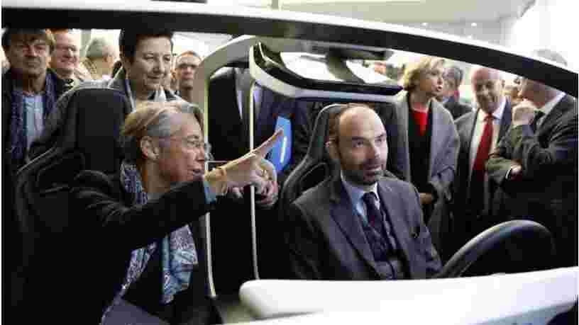 Le Premier ministre dit qu'il ne fermera pas les 10.000 km de lignes de train ciblées par le rapport pour la réforme de la SNCF
