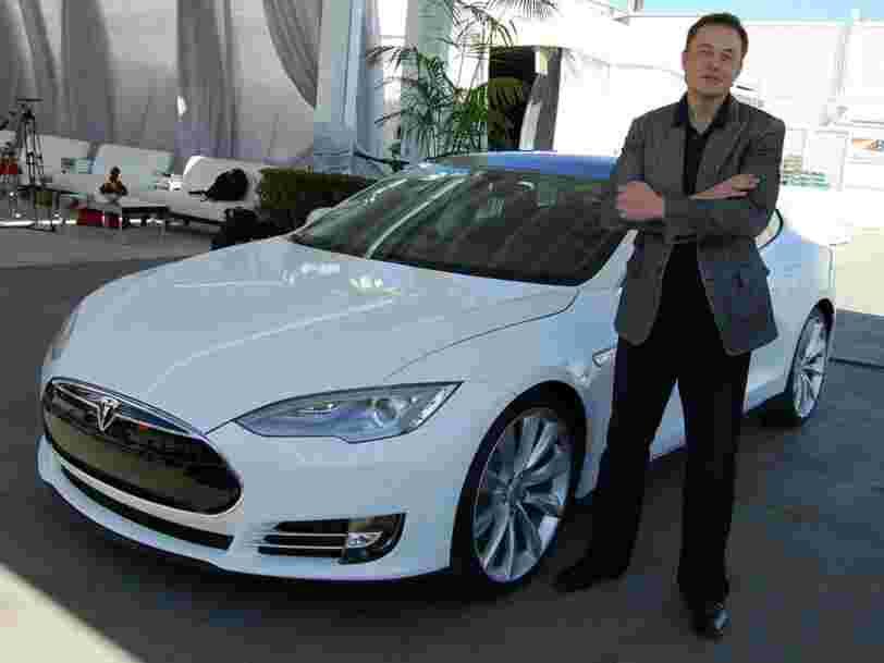 Elon Musk ne sera plus payé par Tesla pour construire des voitures
