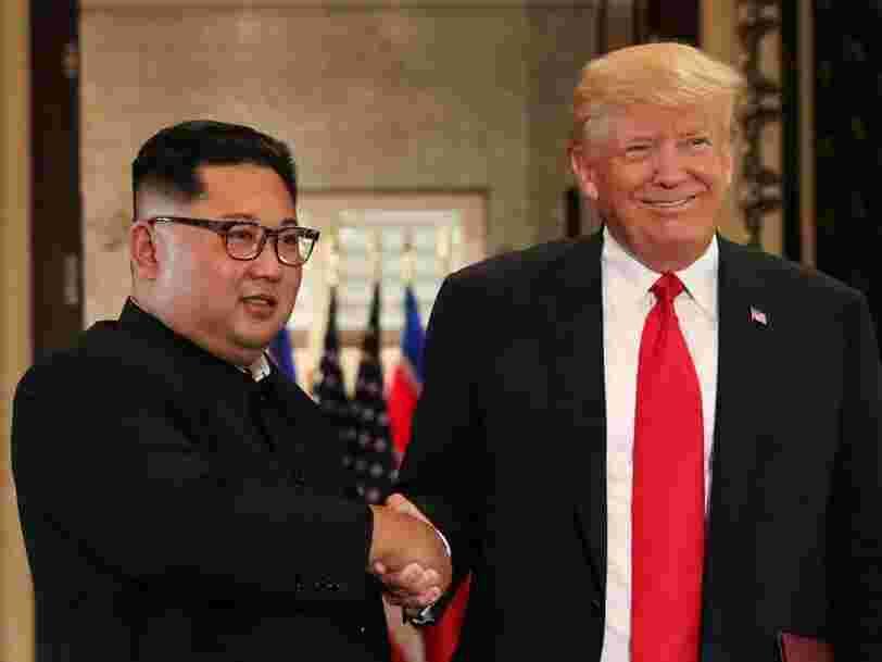 Donald Trump dit qu'il est 'impatient' de rencontrer le dirigeant nord-coréen Kim Jong-un pour la deuxième fois en moins d'un an