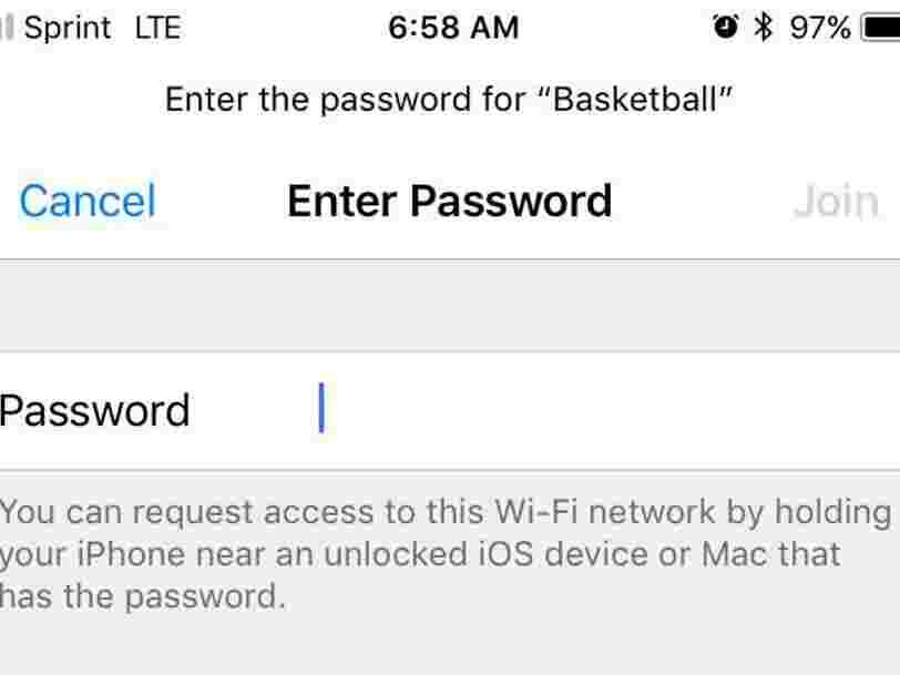 Apple vient enfin de rendre le partage de mots de passe Wifi facile