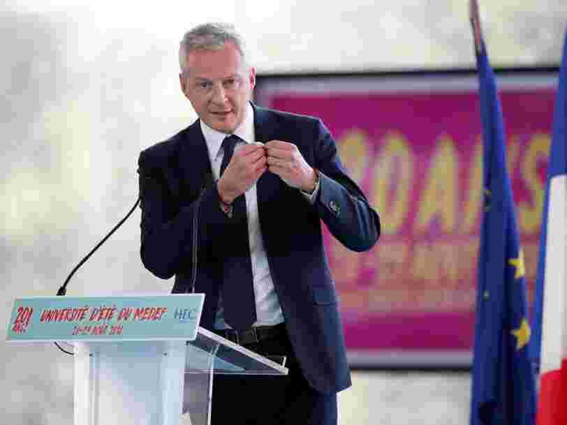 Le nouveau DG d'Air France-KLM s'oppose à Bruno Le Maire en suggérant que l'Etat français n'est pas à sa place dans la compagnie aérienne