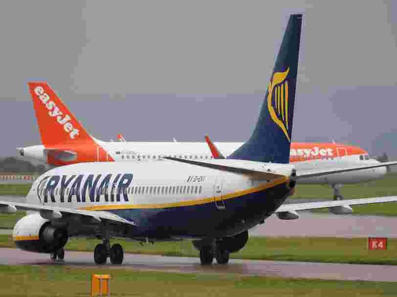 Comment EasyJet et Ryanair seraient affectées par un Brexit sans accord