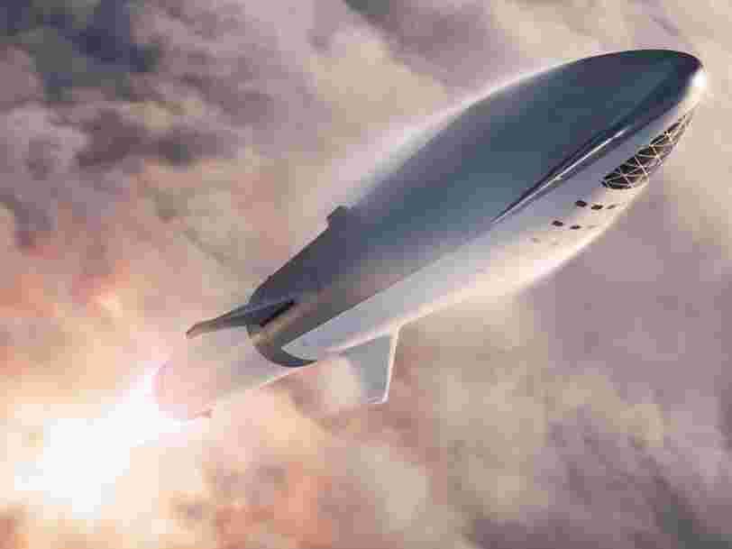 SpaceX pourrait lancer son prototype de vaisseau martien cette semaine... et les 6 autres choses à savoir dans la tech ce matin