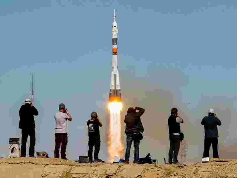2 astronautes qui devaient rejoindre l'ISS ont dû atterrir en urgence après une panne de moteur sur la capsule Soyouz russe
