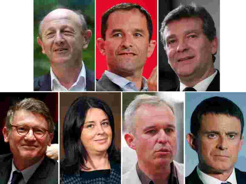 Voici les 7 candidats qui participeront à la primaire de la gauche