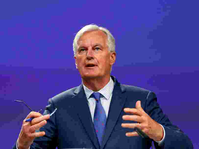 Il n'y a eu 'aucun progrès décisif' depuis plus de 2 mois sur les négociations du Brexit — Michel Barnier dit que le calendrier vacille